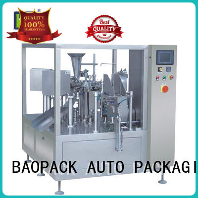 BAOPACK snacks packing machine factory price for plant