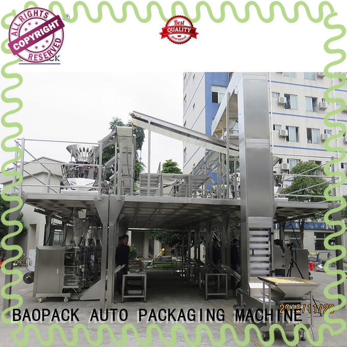 BAOPACK 14head multihead weigher packing machine wholesale for commercial
