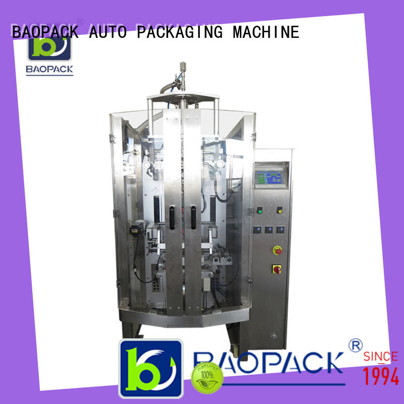BAOPACK multifunction liquid pouch filling and sealing machine cbvp42