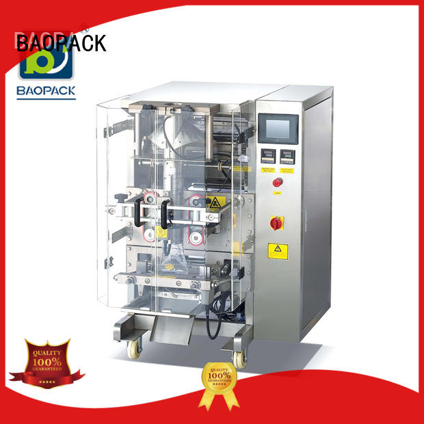 snacks water packaging BAOPACK Brand packing machine supplier