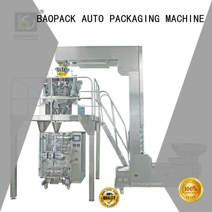BAOPACK vertical vffs packaging machine factory price for sugar