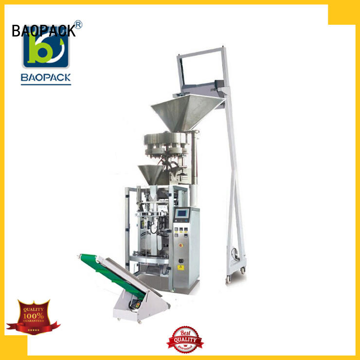 small economic snacks automatic BAOPACK Brand volumetric filling machine supplier