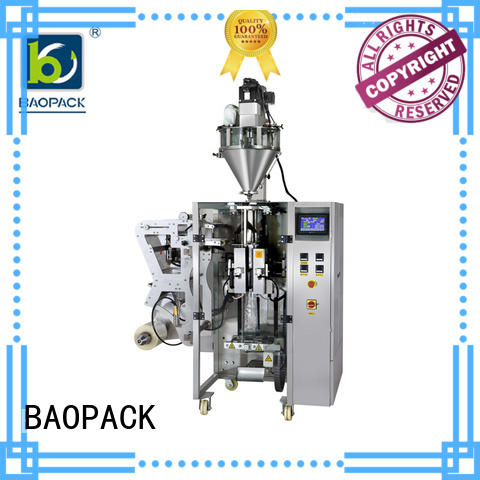 4-side cups motor auger filler BAOPACK manufacture