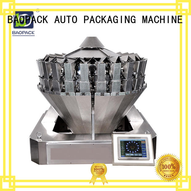 BAOPACK flushing vffs packing machine wholesale for chips
