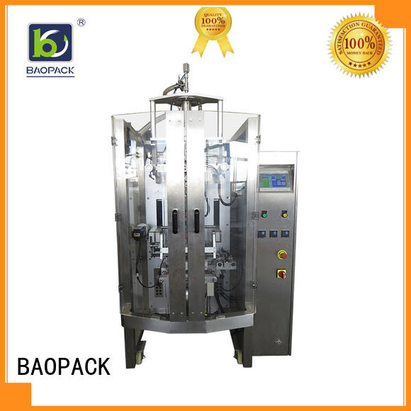 BAOPACK servo liquid packing machine factory price for commercial