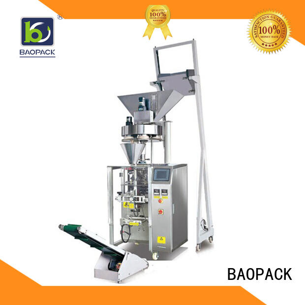 multifunction vertical form fill and seal packaging machines detergent with good price for commercial