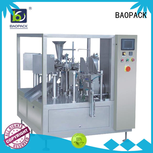 Quality BAOPACK Brand pouch packing machine price strawberry