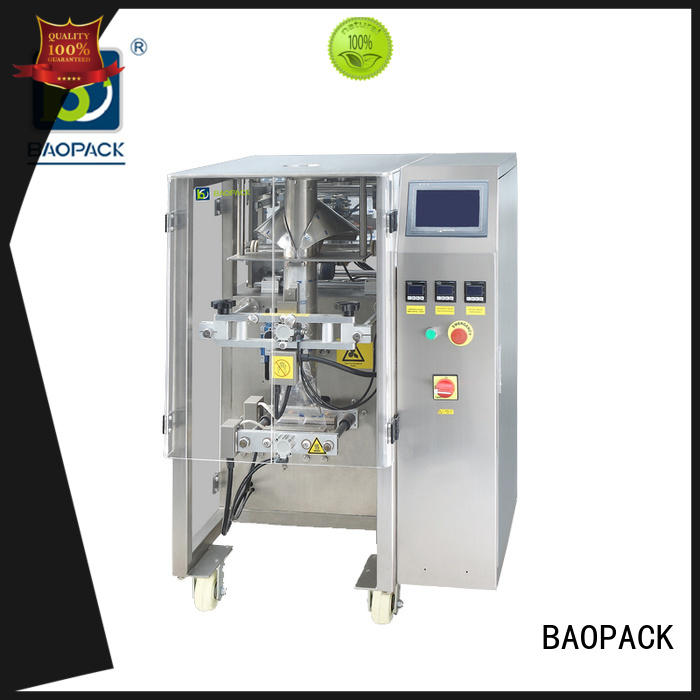 packing machine cost pouch for industry BAOPACK
