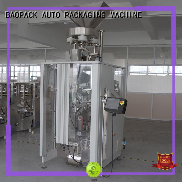 BAOPACK bags vertical form fill seal packaging machines factory for plant