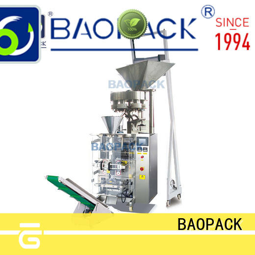 BAOPACK special vertical form fill and seal packaging machines with good price for plant