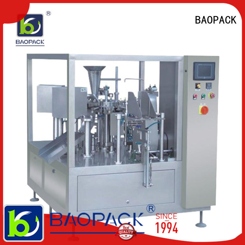 pouch packing machine price meat nuts BAOPACK Brand