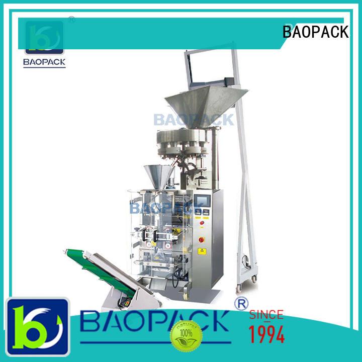 BAOPACK quadro volumetric cup filler machine design for industry