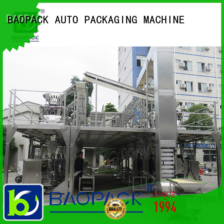 BAOPACK mini vertical form fill seal machine personalized for plant