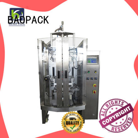 BAOPACK multifunction vffs bagging machine for sale for commercial