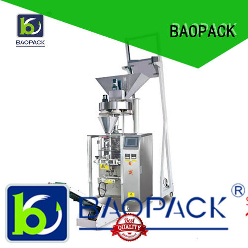 BAOPACK 4side volumetric packing machine with good price for commercial