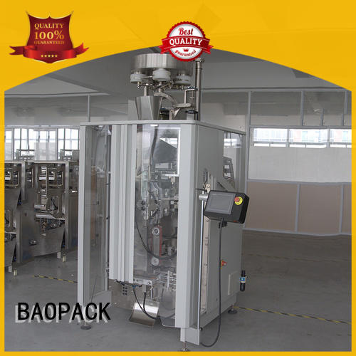 volumetric vertical form fill seal packaging machines snacks design for industry