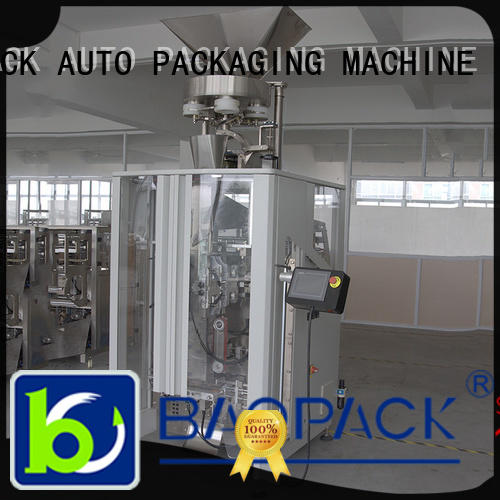 BAOPACK cups vertical form fill and seal packaging machines design for commercial