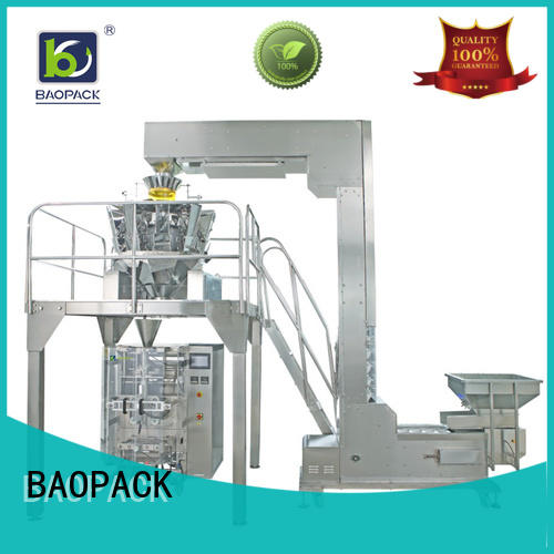 degas vffs packaging machine pouch supplier for plant