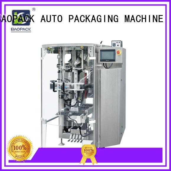 sachet packing machine supplier for plant BAOPACK