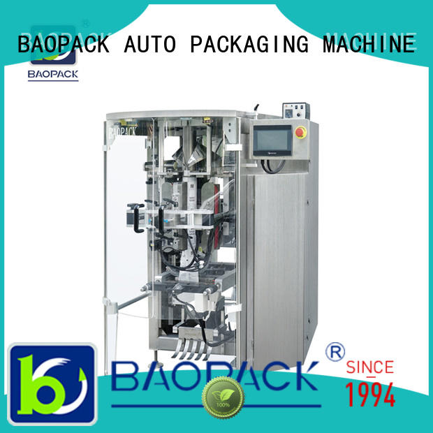 vertical pouch packing machine crisps supplier for plant