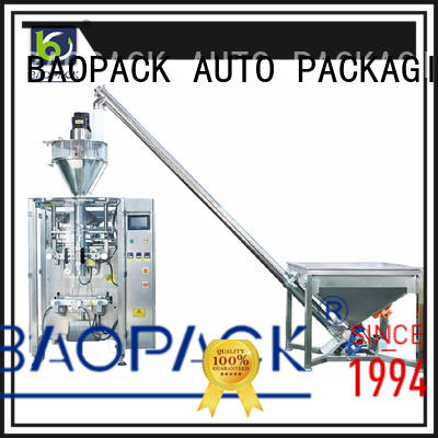 BAOPACK volumetric auger filling machine from China for industry