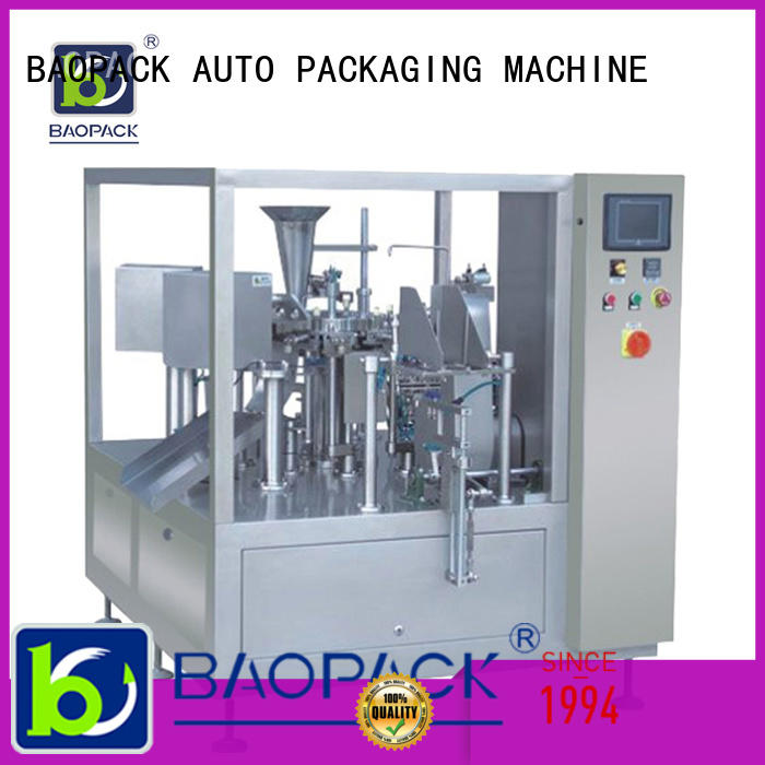 pouch packing machine price sachet highspeed BAOPACK Brand company