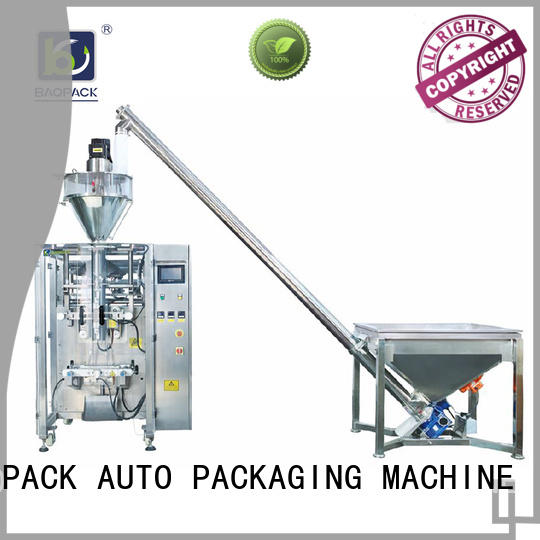 BAOPACK motor form fill seal machine manufacturers from China for plant