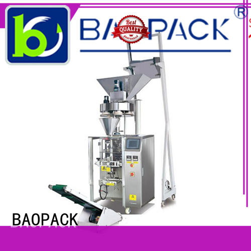 gusset coffee bags BAOPACK Brand volumetric filling machine