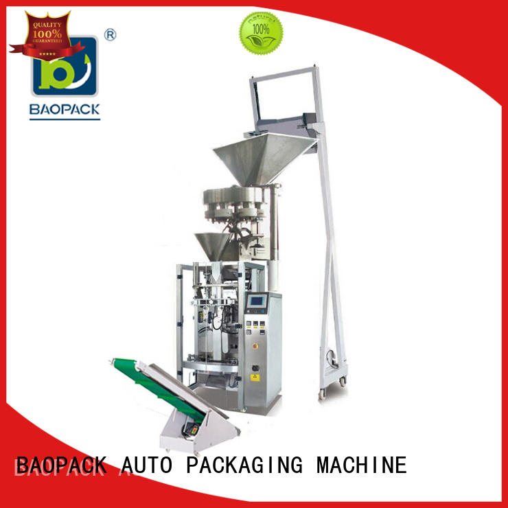 automatic vertical form fill and seal machine coffee with good price for plant