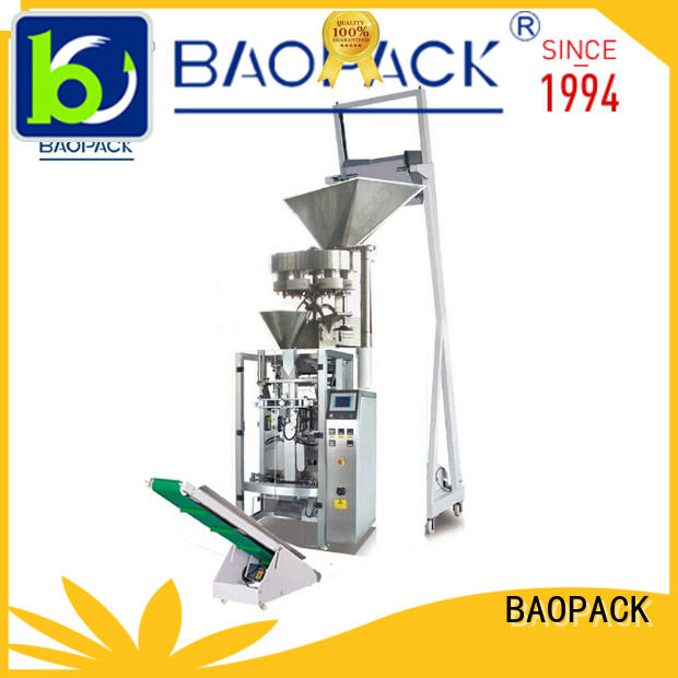 BAOPACK best quality vertical form fill seal packaging machines with good price for industry