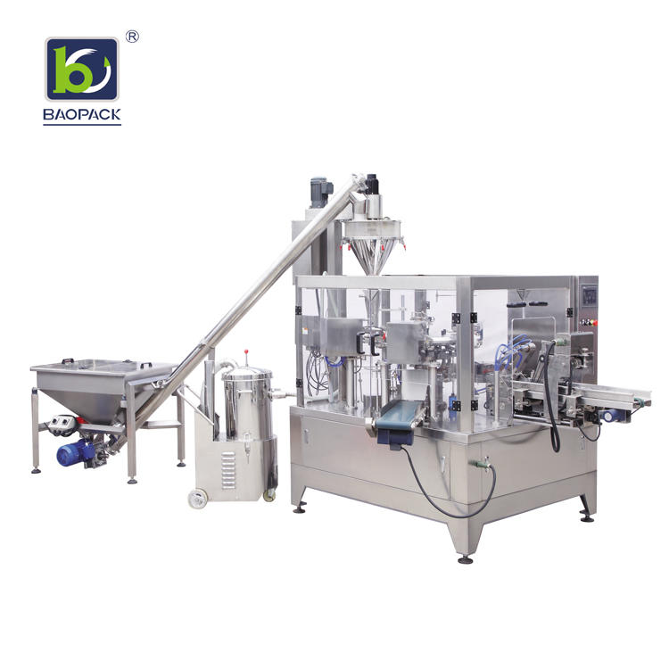 BAOPACK automatic liquid pouch packing machine factory price for plant-2