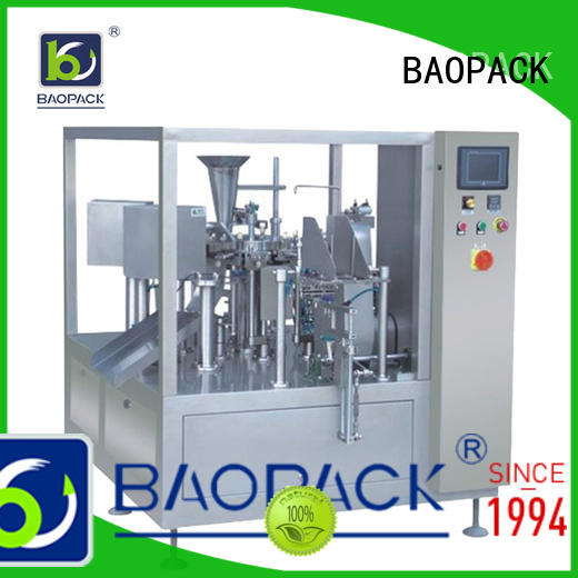 proof water pouch packing machine price fruit for industry BAOPACK