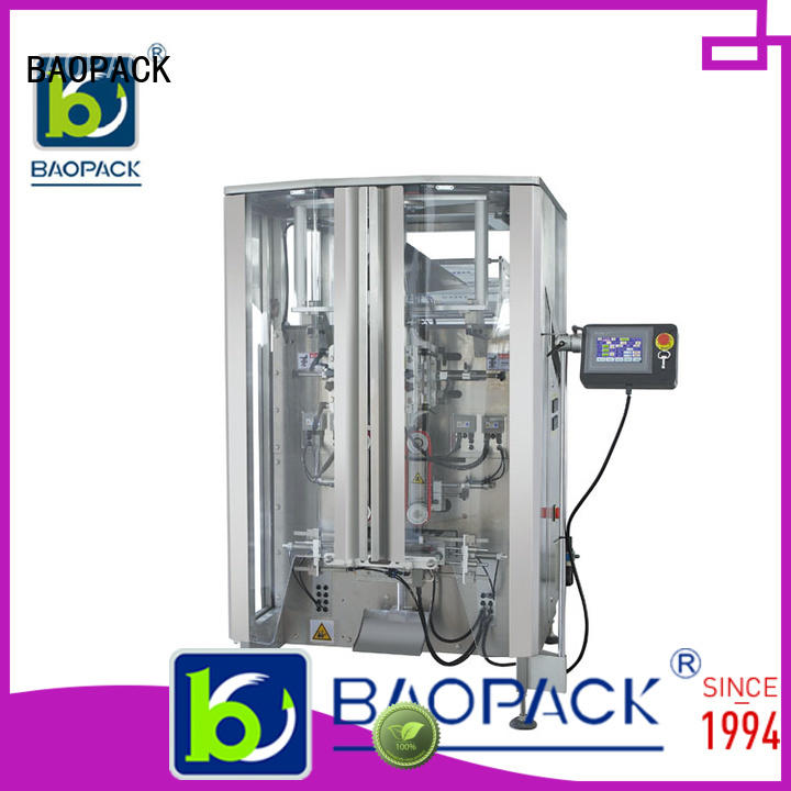 Hot quadro plastic bag packing machine gusset premium BAOPACK Brand