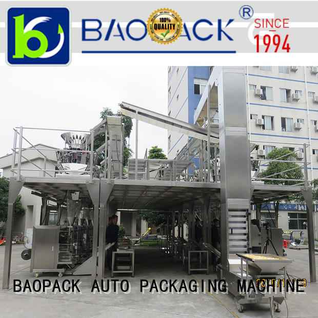 BAOPACK automatic weigher packing machine supplier for chocolate