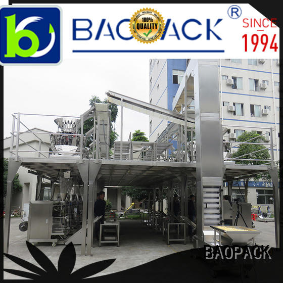 BAOPACK sealed vffs packing machine supplier for plant