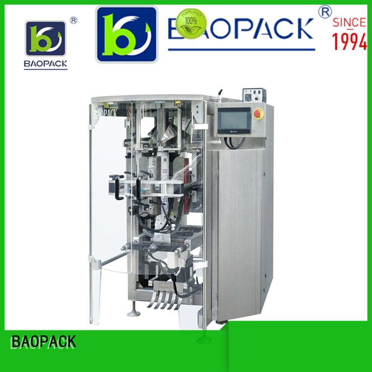 BAOPACK chips pouch packing machine wholesale for industry