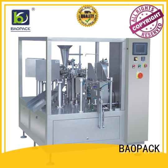 BAOPACK automatic liquid pouch packing machine factory price for plant