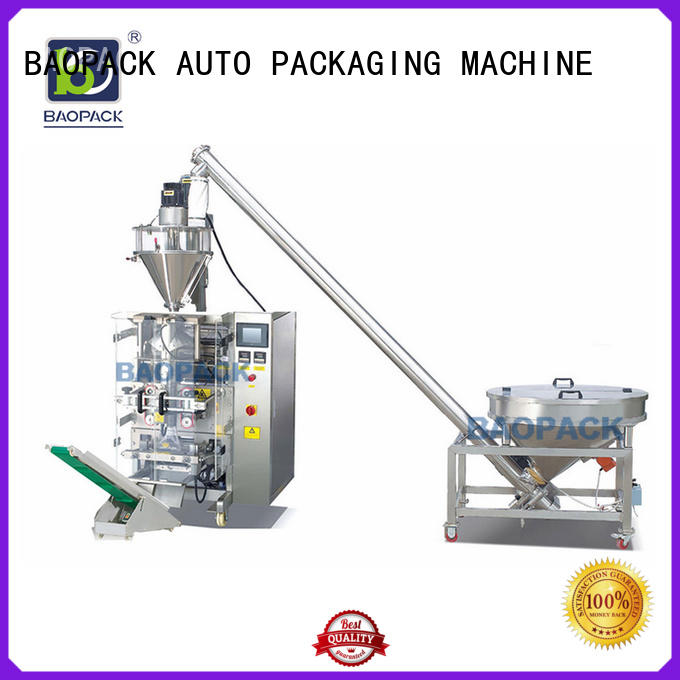 BAOPACK automatic auger filling machine from China for plant