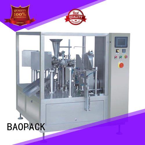 pouch packing machine price potato candies BAOPACK Brand company