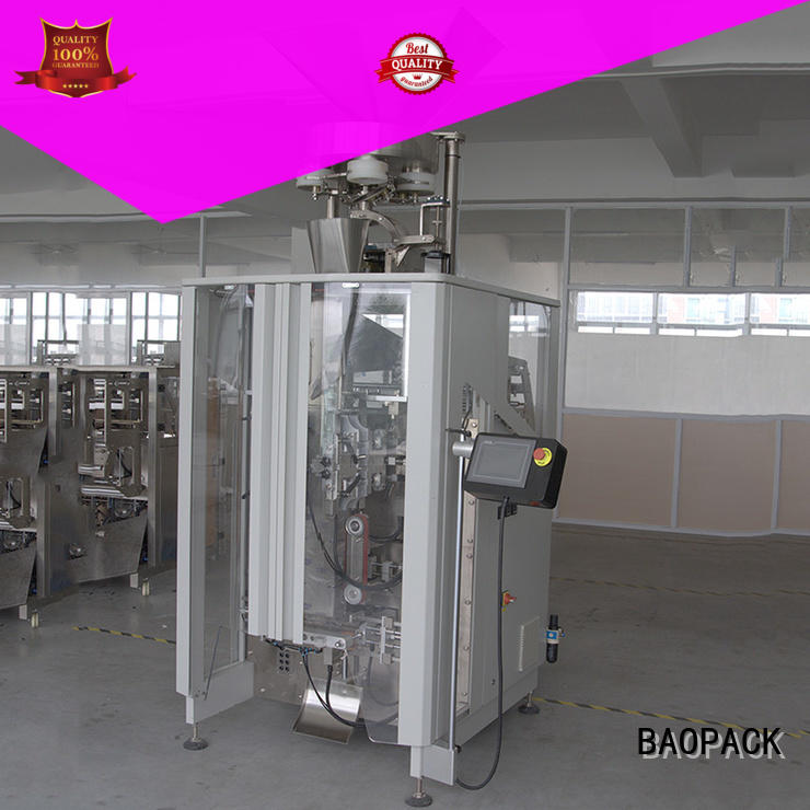 BAOPACK quadro vertical form fill and seal packaging machines inquire now for plant