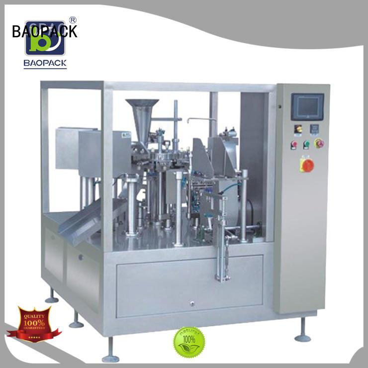 frozen potato packing machine chips water BAOPACK company