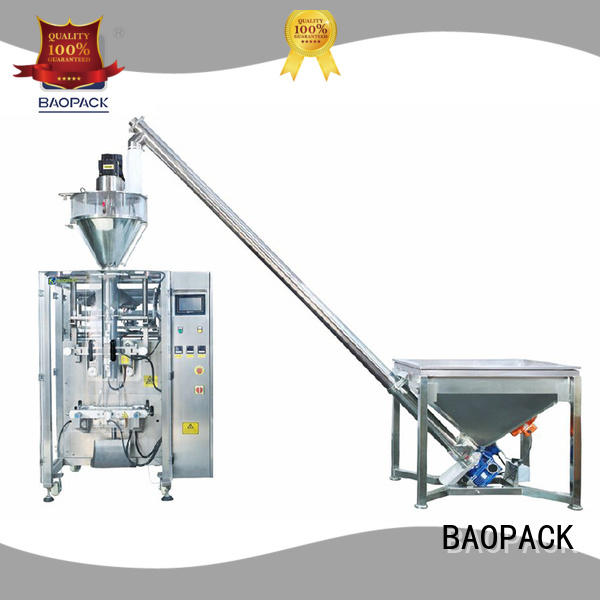 BAOPACK auger powder packing machine directly sale for plant