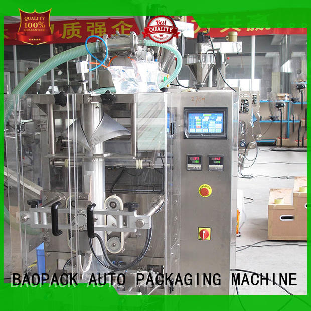 BAOPACK volumetric liquid filling and sealing machine wholesale for commercial