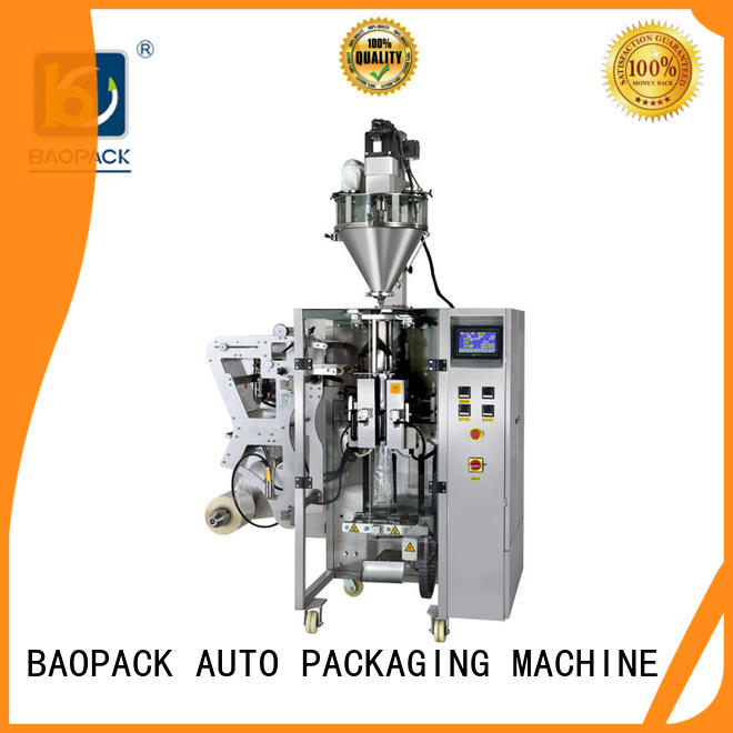 small powder filling machine baopack customized for commercial