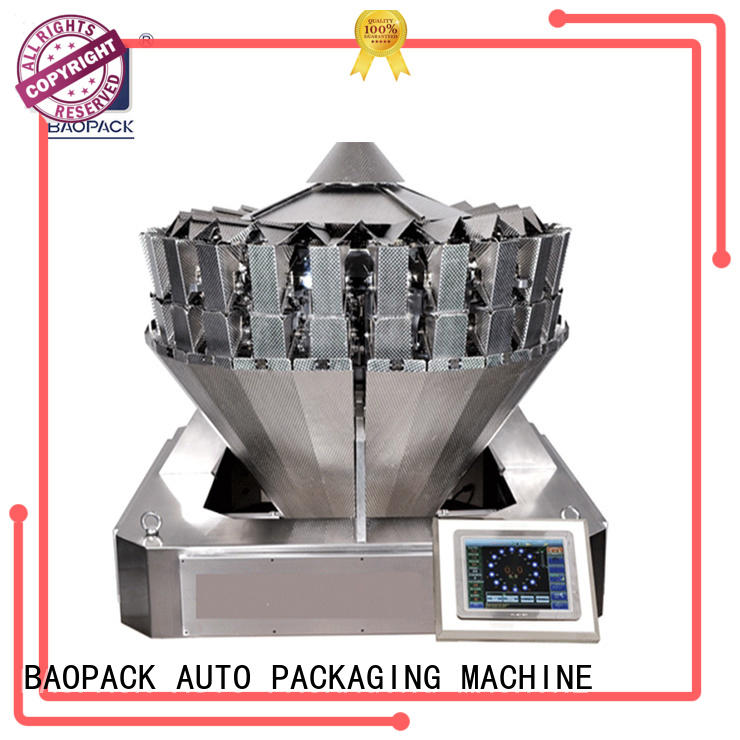 BAOPACK  High Speed Automatic Multi-head Combination Weigher Vertical Packing Machine