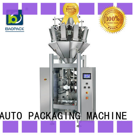 BAOPACK degas vertical form fill seal machine wholesale for commercial