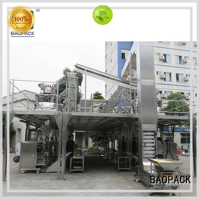 BAOPACK 10head vffs packing machine personalized for industry