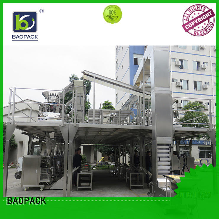 BAOPACK Brand peanuts coffee beans food custom automatic weighing and packing machine