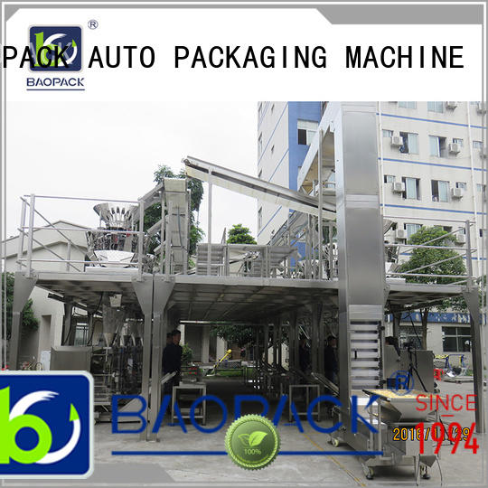 BAOPACK maize multihead weigher packing machine personalized for commercial