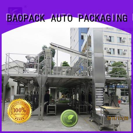 grain chips multihead weigher packing machine BAOPACK Brand